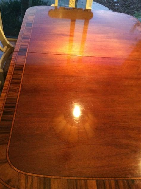 repairing wood table finish thriftyfun