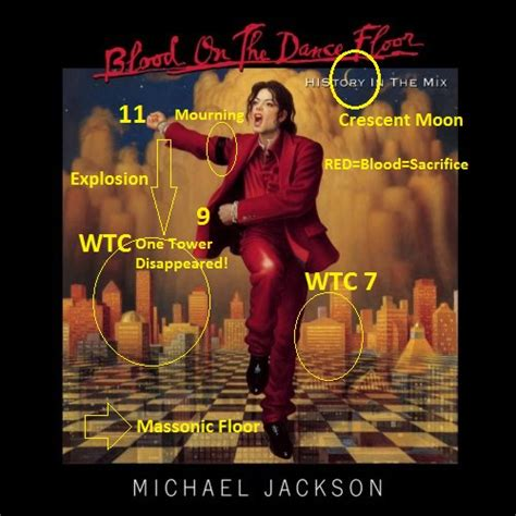Blood On The Floor Albums by Michael Jackson Rituals Of Blood Sacrifice For 9 11 Event