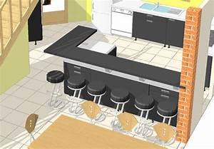 Plan De Travail Pour Bar : premi res r flexions sur la cuisine la maison de steph ~ Dailycaller-alerts.com Idées de Décoration