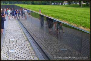 Vietnam Veterans Memorial Wall Washington DC