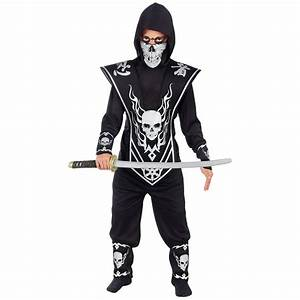 Skull Lord Ninja Child Costume | BuyCostumes.com