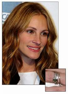 julia roberts 3750 engagement ring celebrity wedding With julia roberts wedding ring