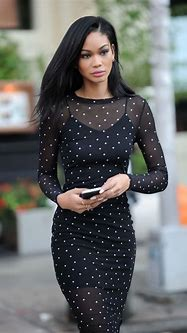 Chanel Iman Shows Off Her Eclectic Style - New York 11/16 ...