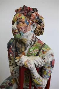Sculpture En Papier Maché : will kurtz paper sculptures art sculpture art cardboard art ~ Melissatoandfro.com Idées de Décoration
