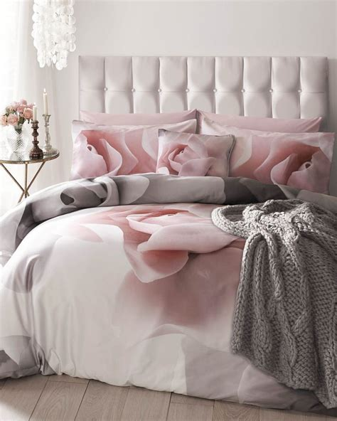 awesome elegant floral cotton pink comforter sets queen