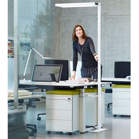 support ordinateur portable bureau ladaire waldmann lavigo 8000 lumen ergonéos