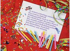Wunderschöne Geburtstagssprüche und Zitate für die