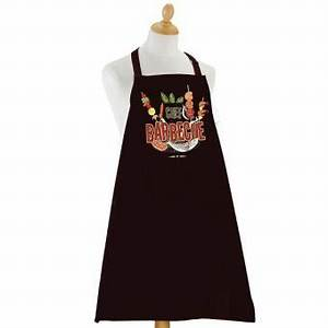 Tablier De Cuisine Homme : tablier de cuisine homme barbecue noir achat prix fnac ~ Melissatoandfro.com Idées de Décoration