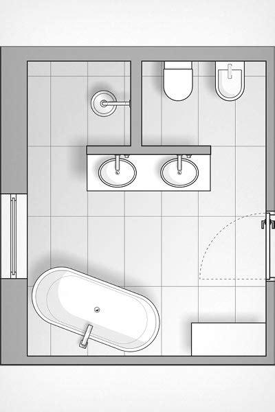 Badezimmer T Form by Tapeten Im Bad Stilvoll Inszeniert Meister Der Elemente