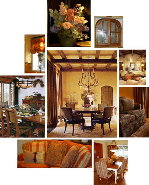 tuscan decor design bookmark