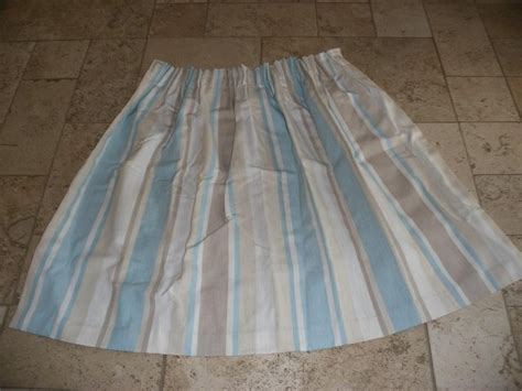 curtains awning stripe duck egg for sale in