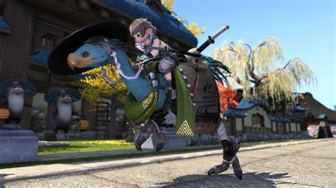 New Samurai Chocobo Barding Ffxiv