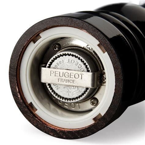 Pepper Grinder Peugeot by Peugeot Wood Pepper Mill Black 18cm On Sale Now