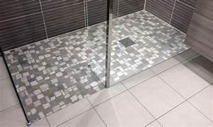Carrelage Antidérapant Douche : sol douche italienne pour magnifier la salle de bain ~ Premium-room.com Idées de Décoration