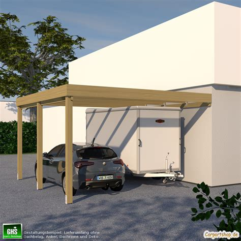 Caravananbaucarport, Grundkonstruktion 5x5  Typ 280