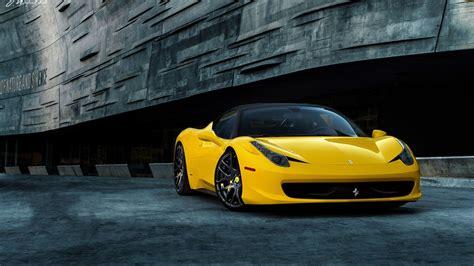 Ferrari 458 Italia Full Hd Wallpaper And Background Image