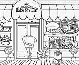 Bakery Clipart Coloring Complex Minion Drawing Cake Printable Minions Cliparts Fun Draw Grus Activities Clip Cakes Tom Webcomicms Landscape Bake sketch template