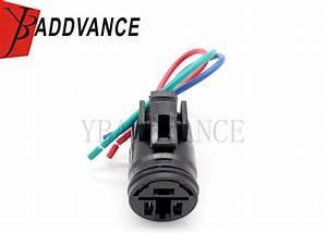 Round 3 Way Vehicle Wiring Harness Alternator Connector