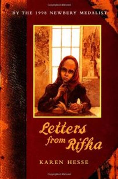 letters from rifka children s book review letters from rifka by hesse
