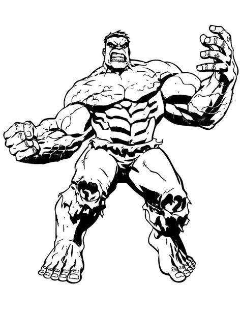 big muscle incredible hulk coloring page hulk coloring