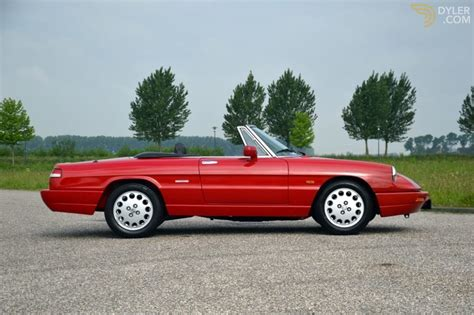 1991 Alfa Romeo Spider For Sale by Classic 1991 Alfa Romeo Spider 2 0 Serie 4 For Sale Dyler