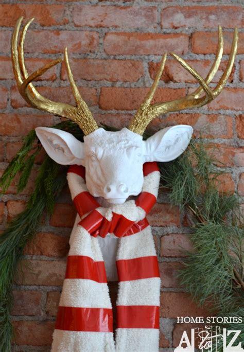 diy faux deer head home stories