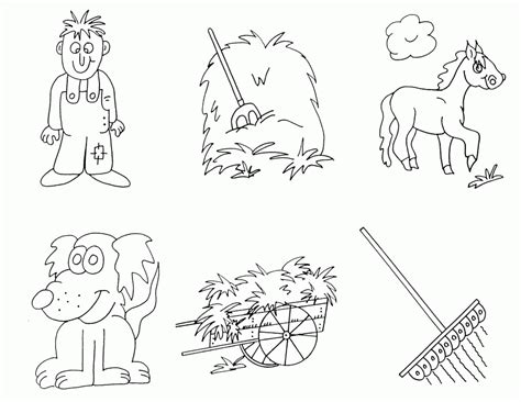 preschool farm coloring pages coloring home 452 | zcX4RjAni