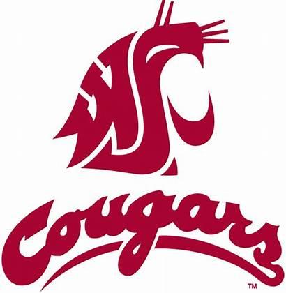 Washington Cougars State Wsu Football Logos Cougar