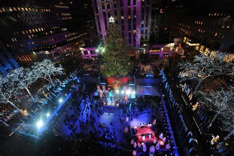 photos 2014 rockefeller center christmas tree lighting
