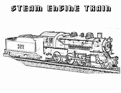 Coloring Pages Steam Engine James Train Printable