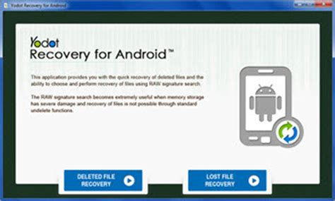 android recovery software yodot android data recovery alternative