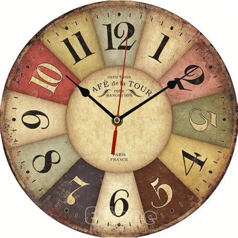 horloge cuisine vintage large kitchen wall clocks