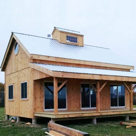 Style X Shop by Kits For 20 X 30 Timber Frame Cabin Jamaica Cottage Shop