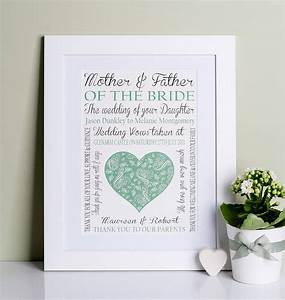 mother of the bride groom wedding print by lisa marie With wedding gifts for the bride