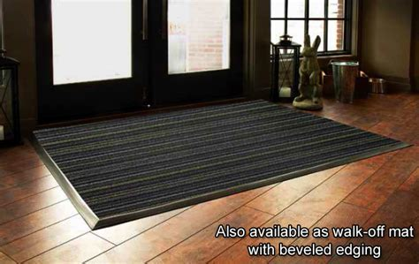 Striped Carpet Floor Mat Tiles are Modular Carpet Tiles by