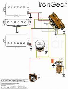New Guitar Wiring Diagram Single Pickup  Diagram
