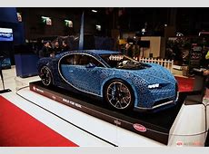 Bugatti Chiron LEGO livepics met bizarre details