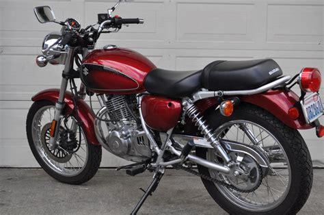 Tu250 Suzuki by 2009 Suzuki Tu250 Moto Zombdrive
