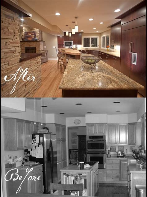 kitchen remodels    oak