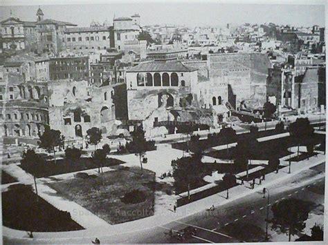 ufficio giardini comune di roma roma sparita foto storiche di roma fori imperiali l