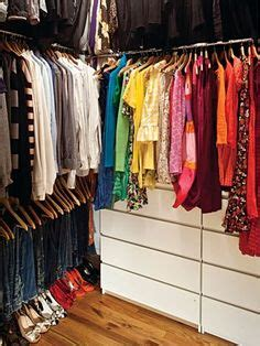 color code your closet organizing your items by color