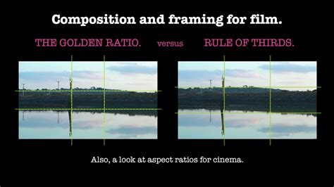 composition  framing  film rule  thirds