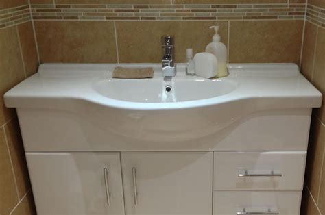 bathroom sink and toilet units befon for
