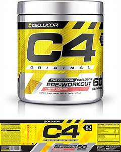 Cellucor C4 Original Explosive Pre