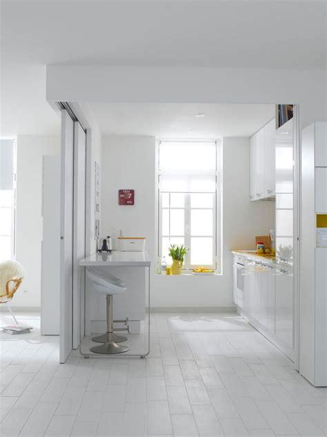 revetement de sol pvc stratifie salle de bain cuisine