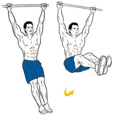 hanging leg raises exercise pinterest hanging leg