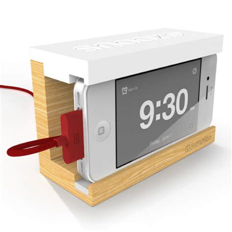 how is snooze on iphone snooze iphone alarm clock dock popsugar tech