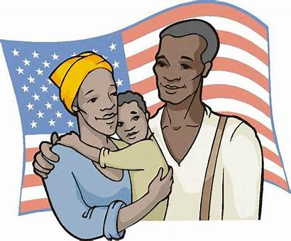 Juneteenth Clipart American African Celebration Origin Clip