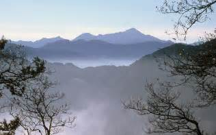 Taiwan Alishan Mountain Scenic Area