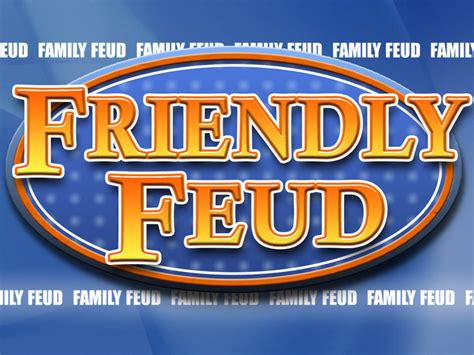 Family Feud Template Family Feud Customizable Powerpoint Template Youth